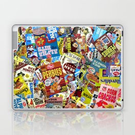 Cereal Boxes Collage Laptop & iPad Skin