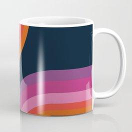 Hip - retro minimal 70s style throwback vibes 1970's art minimalist decor Coffee Mug