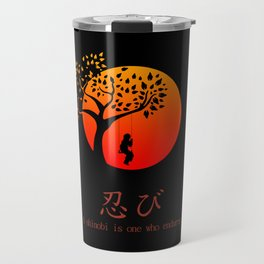Shinobi Endures Travel Mug