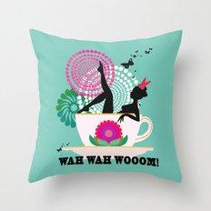 WAH WAH WOOOM! Throw Pillow