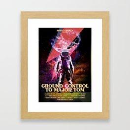 Rocket man (former Space Oddity) Framed Art Print