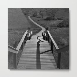 Coulee Stairs Metal Print