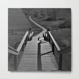 Coulee Stairs Metal Print
