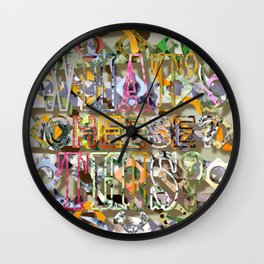 WHAT'S THIS? 13 Wall Clock