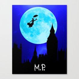Poppins Terrestrial Canvas Print