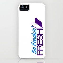 So Freakin' Fresh v7 HQvector iPhone Case