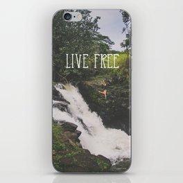 Live Free iPhone Skin