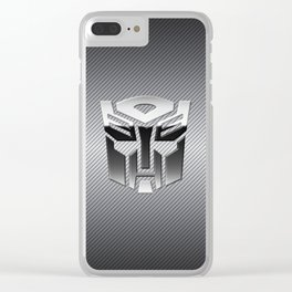 Autobot Steel Chrome Clear iPhone Case