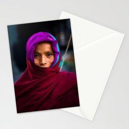 Nepalese woman of Sindhupalchowk, Nepal Stationery Cards