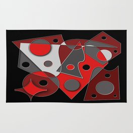 Abstract #321 Rug