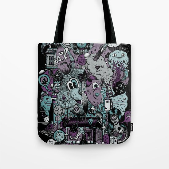 Supernature In The City Of Poison Syrup And Hope Candy Tote Bag