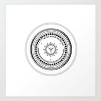 Lens From The Future  Art Print