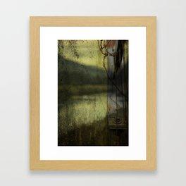 Modern Landscape Framed Art Print