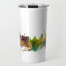 Calcutta (Kolkata) India Skyline Travel Mug