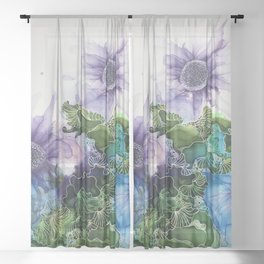 Garden Calm Sheer Curtain