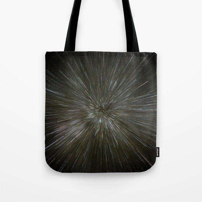 zooming towards stars Tote Bag