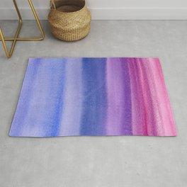 Celebrating Violets Color Field Rug