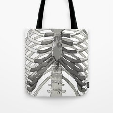 Vector Ribcage Tote Bag