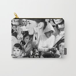 Audrey Hepburn Montage 1 Carry-All Pouch