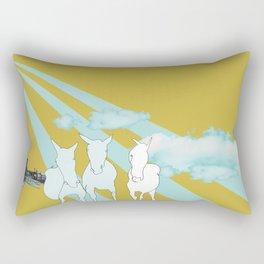 Horses. Rectangular Pillow