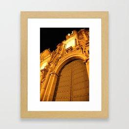 Cuzco City Framed Art Print