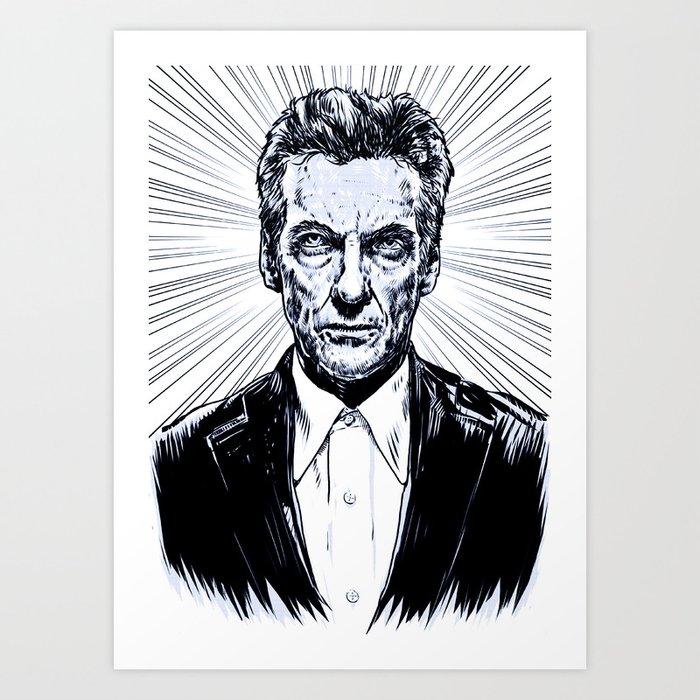 The Twelfth Doctor - Peter Capaldi Art Print