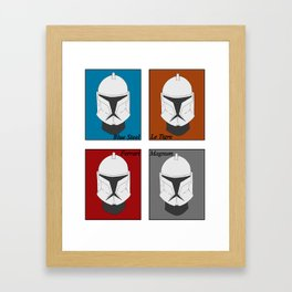 Magnum Trooper Framed Art Print