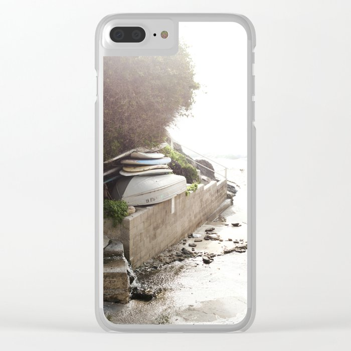 Laguna Adventures Await Clear iPhone Case