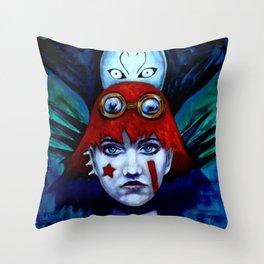 Molly and Spirit Throw Pillow