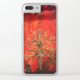Tree of Life 2016 Clear iPhone Case