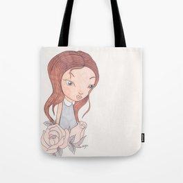 Romantic girl Tote Bag