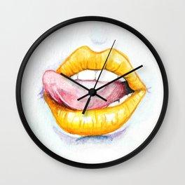 You Look Delicious Wall Clock