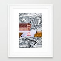 napoleon Framed Art Prints featuring Napoleon  by elluce