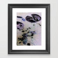 Lilypad 2 Framed Art Print