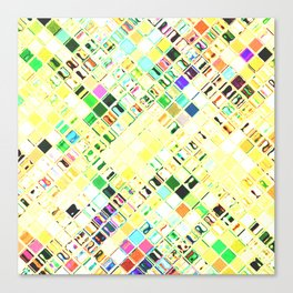 Re-Created  Mosaic No. THIRTEEN by Robert S. Lee Canvas Print