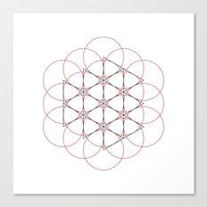#538 Generator – Geometry Daily Canvas Print