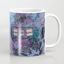 Black Shimmery Art Coffee Mug