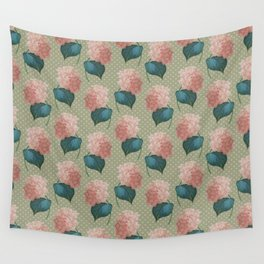 Redoute Hydrangea Wall Tapestry