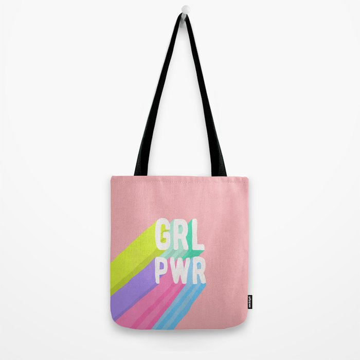GRL PWR (II) Tote Bag