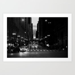 Chicago Noir ... Art Print