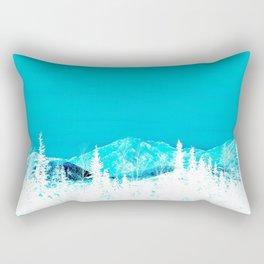 Turquoise Alaska - Pop Art I Rectangular Pillow