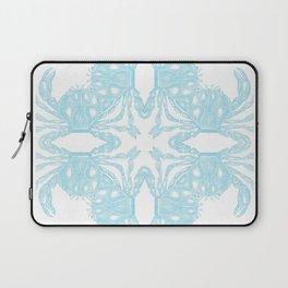 Crab Kaleidoscope Laptop Sleeve