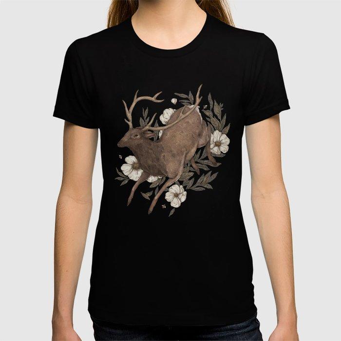 Floral Elk T-shirt