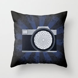 Shutterbug Burst Throw Pillow