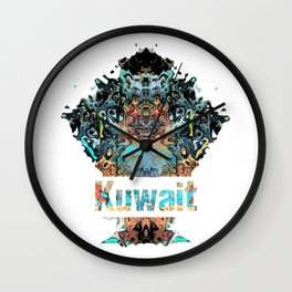 Kuwait Awesome Country gift Wall Clock