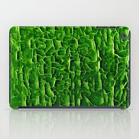 vegetable iPad Cases featuring green vegetable by clemm