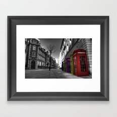Call Me Framed Art Print