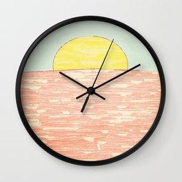 Always A Sunrise Wall Clock