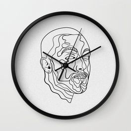 Larry Fisherman Wall Clock
