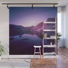Billy's Lake Blue Hour Wall Mural